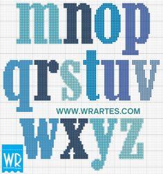 Alfabeto IRADO especial para HOMENS