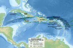 Christopher Columbus second voyage 1493-1496