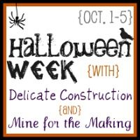Share Tweet Pin Mail Hey there! I'm back again to share more Halloween fun with you! Delicate Construction and I are so thrilled you ...
