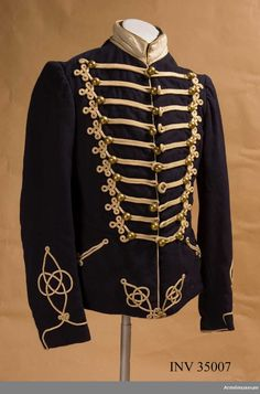 Dolman m/1895 for Troopers at the Life Regiment Hussars.
