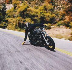 hope you enjoy the cafe racer inspiration. Blitz Motorcycles, Vintage Motorcycles, Custom Motorcycles, Custom Bikes, Cars And Motorcycles, Moto Cafe, Brat Cafe, Cafe Racer Motorcycle, Motorcycle Style