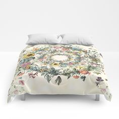 Circle of Life Cream Comforters  25% Off + Free Shipping on This Item - Ends Tonight at Midnight PT!