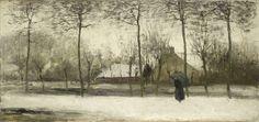 Winterlandschap, Willem Maris, c. 1875