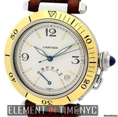 Cartier Pasha CollectionPasha Power Reserve Steel & Gold 38mm Reference #…