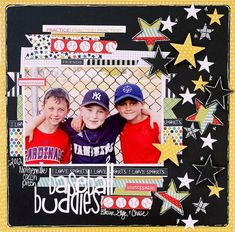 Love this.....all the stars! Great Bella Blvd stuff! (do soccer instead!)