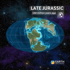 The Late Jurassic seen here 150 million years ago gave us some of the most…