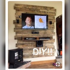 Cool DIY Wooden Pallet TV Console Ideas for your project – Eingangshalle - Diy Furniture