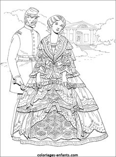 Creative Haven Jazz Age Fashions Coloring Book By Ming Ju