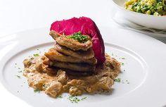 Prinz Myshkin - in Munich- vegetarian meal when sick of sausage