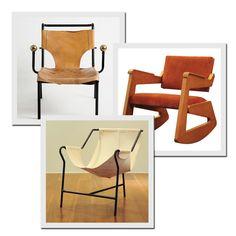 Reissued furniture by Lina Bo Bardi | Photo : Editora Globo