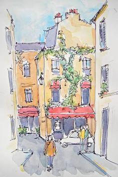 Sketchbook Wandering: Being in Paris Without Being in Paris