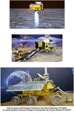 #Chinas #spacecraft Change-3 landed on #Moon Saturday, 13/12/2013   China has joined #US and #Russia as one of only 3 nations to make a controlled soft landing of an unmanned spacecraft on moons surface. Not a remote vehicle you can buy, but awesome nonetheless.