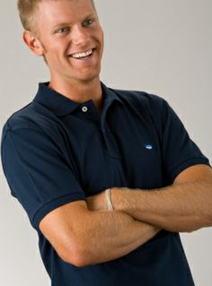 Southern Tide Skipjack Classic Polo Midnight Blue Southern Tide, Sports Shirts, Midnight Blue, Polo Ralph Lauren, Spring 2014, Classic, Mens Tops, Fashion, Derby
