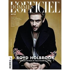 Yesterday night we launched our newest edition of L'OFFICIEL HOMMES NL with a live experience @mocomuseum. Proud to present ---> 2 covers 2 actors and 400 pages of #fashion  #art #design #culture  #watches  #wheels  #sport  #maintenance & #travel #nextweekinstore  Cover 1: BOYD HOLBROOK @robertboydholbrook #Wearing: @gucci #Photography: @damon_baker #Styling: @styleitholmes #Creativedirection: @nicolettegoldsmann Cover 2: JARED LETO @jaredleto #Wearing: @gucci & @carrera #Photography…