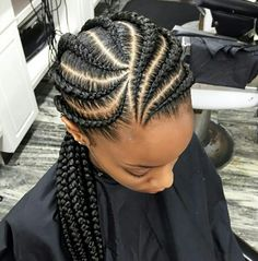 Looking for natural hair inspiration? Discover styles, products, and tips to guide you on your natural hair journey. - Looking for natural hair inspiration? Discover styles, products, and tips to guide you on your natural hair journey. Ghana Braids Hairstyles, African Hairstyles, Girl Hairstyles, Hairstyles 2018, Ghana Cornrows, Protective Hairstyles, Cornrolls Hairstyles Braids, Hairstyles Pictures, Braids Cornrows