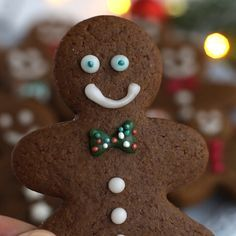 This easy Gingerbread Men Cookies recipe is a must-have for Christmas. Holiday Cookie Recipes, Easy Cookie Recipes, Holiday Cookies, Holiday Baking, Christmas Baking, Christmas Recipes, Easy Recipes, Italian Christmas, Beef Recipes