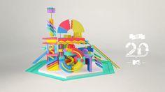 MTV/ MTV TOP 20 by Pes Motion Studio, via Behance