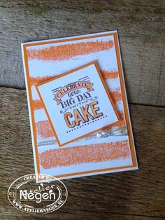 Stampin' Up! Big Day stamp set - Created by Atelier Negen - www.laulijn.nlBig Day...
