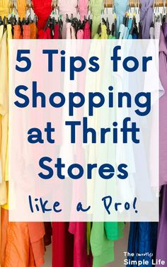 5 Tips for Shopping at Thrift Stores like a Pro 5 Tips for S. - 5 Tips for Shopping at Thrift Stores like a Pro 5 Tips for Shopping at Thrift Stores like a Pro Thrift Store Fashion, Thrift Store Outfits, Thrift Store Shopping, Thrift Store Crafts, Thrift Store Finds, Shopping Hacks, Thrift Stores, Dollar Stores, Thrift Shop Clothes
