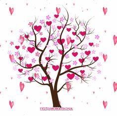 Κινούμενες εικόνες αγάπης.. -Η ψυχή μου σ ένα στίχο- Animated Heart, Snoopy Love, Gifs, Beautiful Gif, Tree Leaves, Picture Video, Animation, Fantasy, Pictures
