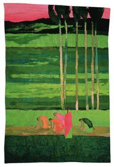 Tapestry   Rizière à Ceylan—300×200 cm, Bernard Cathelin - official website