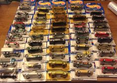 LOOK  54 Car Lot 1999 Hot Wheels Collector Ser.#s ranging from 1001-1119  NIP