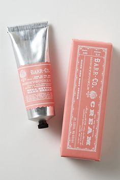 Barr Co., Hand Cream, Packaging, Design