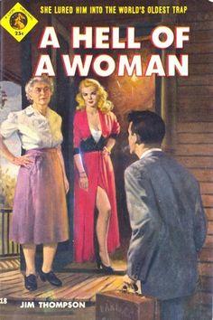 jim thompson author | ... by Jim Thompson (Lion Books, 1954) | Those Sexy Vintage Sleaze Books