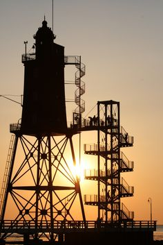 Alter Leuchtturm Nordsee 2008 von Joppi