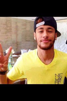 I love you, neymar Team Player, Soccer Players, Neymar Jr 2014, Barcelona Team, Hair Starting, Football Boys, Cutest Thing Ever, To My Future Husband, Brazil
