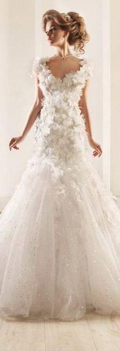 Vestido de Noiva ♡ Rami Kadi Wedding Dresses Bridal 2012 Collection