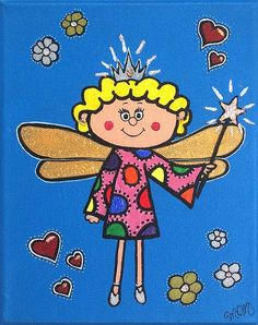 Cute Fairy Godmother by LollipopDesignsAU on Etsy, $35.00