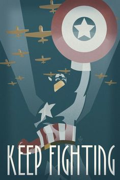 Inspirational WWII Poster.