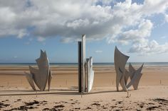 Omaha Beach..Normandy France