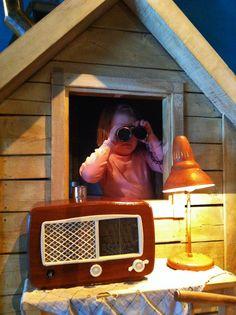 Ett eget litet hus med krypin-känsla till barnrummet? Inspiration...