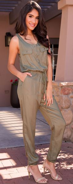 jumpsuits-for-women - Womens Fashion 1 Fancy Dress Outfits, Chic Outfits, Summer Outfits, New Fashion Clothes, Fashion Dresses, Complete Outfits, Online Shopping Clothes, Jumpsuits For Women, Short