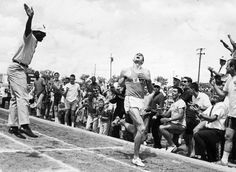 1964 - Jim Ryun - The 1st High Schooler under 4 minutes in the mile - 3:59.00