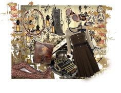 """""""Casual Steam-Punk"""" by banarbra on Polyvore"""
