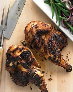 Emeril's Caribbean Chicken - the weather is so nice that we ought to try this.