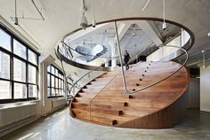 designed-for-life:  Wieden+Kennedy New York's Offices  Well known for their work with Nike, the new advertising agency office design for Wie...