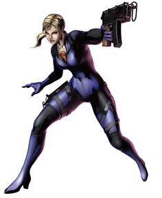 jill valentine marvel vs capcom 3