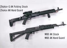 Magpul AK Furniture: Zhukov and MOE