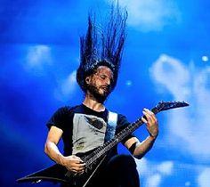 #ChristianAndreu #Gojira performs at Rock in Rio in Rio de Janeiro, #Brazil Sept. 19. (AP Photo/Felipe Dana)