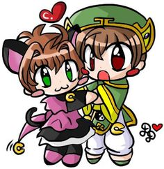 Sakura y Shaoran!...