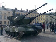 Marksman SPAAG on display in Helsinki [1600  1200]