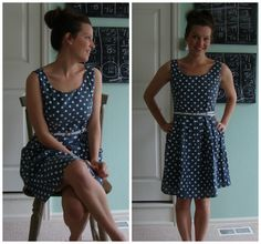 Dear Stylist - Ok I really want this dress. Stitch Fix Yumi Jodie Chambray Dot Pring Fit and Flare Dress Oak & Oats: the real deal about Stitch Fix