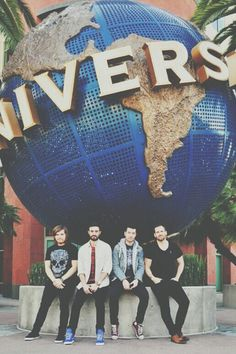 I went to universal studios two years back. Why couldn't I ha e been there when they were there?!