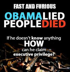 Executive privilege?  What happened to transparency?     #fastandfurious