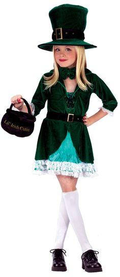 Lil Leprechaun Costume Child | Leprechaun Girls Costume