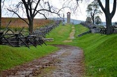 5. Antietam Battlefield's Bloody Lane (Sharpsburg)